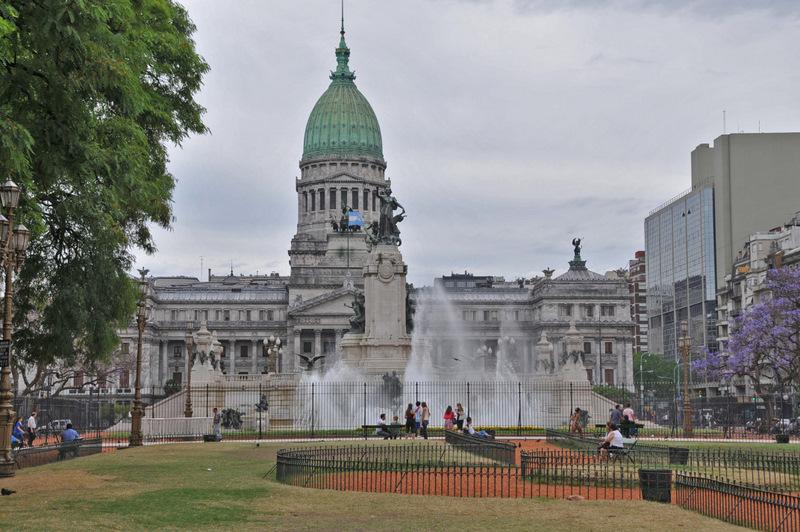 Buenos Aires Plaza del Congreso