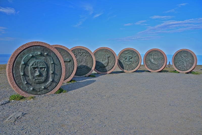 Nordkap Steintafeln